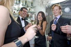 Anos novos do partido Imagens de Stock Royalty Free