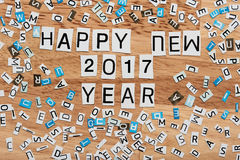 2017 anos novos feliz Imagens de Stock