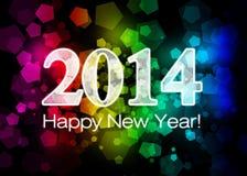 2014 anos novos felizes Fotografia de Stock
