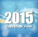 2015 anos novos felizes Fotografia de Stock