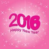 2016 anos novos felizes Fotos de Stock Royalty Free
