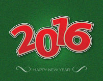 2016 anos novos felizes Fotografia de Stock