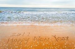 2017 anos novos felizes Imagem de Stock