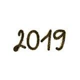 2019 anos novos felizes ilustração royalty free