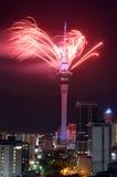 2016 ANOS NOVOS NOVA ZELÂNDIA Imagens de Stock