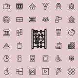 anota el icono Sistema detallado de la línea minimalistic iconos Diseño gráfico superior Uno de los iconos de la colección para l libre illustration