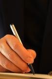 Anotando notas do negócio fotografia de stock royalty free