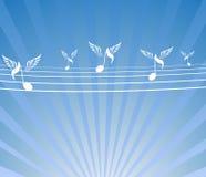 Anote pássaros Imagem de Stock