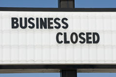 Another Business Failure Stock Images