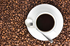 Another coffee? Royalty Free Stock Images