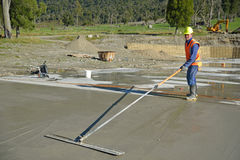 Another concrete pour Stock Image