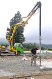 Another concrete pour Stock Photos