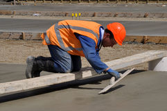 Another concrete pour Royalty Free Stock Photography