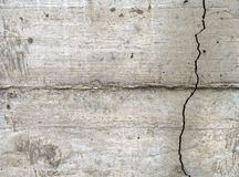 Another crack in the cement wall Royalty Free Stock Photos