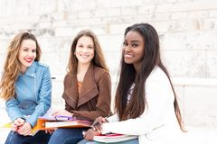 Another day at the university! Royalty Free Stock Images