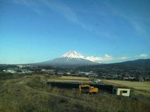 Another great Mount Fuji view! Royalty Free Stock Image