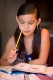 Another homework Stock Image
