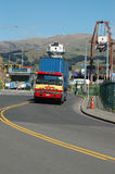 Another load leaving Lyttleton Royalty Free Stock Photo