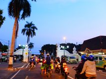 Another Malioboro. Malioboro street in Jogjakarta Indonesia with its traditional Stock Photo