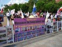 Another Massacre at Camp Ashraf Stock Photos