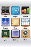 Another Mobile icons Royalty Free Stock Photo
