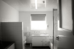 Another old bathroom Royalty Free Stock Images
