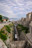 Another perspective of the old city of Dubrovnik Stock Photos