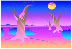 Another planet vector royalty free illustration