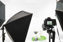 Another project in the photo studio royalty free stock photo