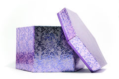 Another purple gift box Royalty Free Stock Photography