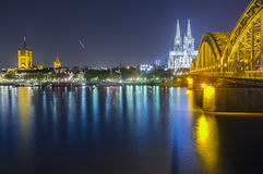 Another side of the dom of cologne Stock Images