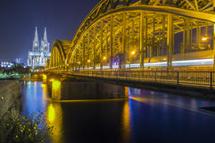 Another side of the dom of cologne Stock Photography