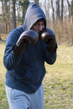Another Southpaw Defense Stock Image