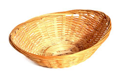 Another straw basket Royalty Free Stock Images
