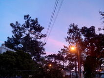 another sunset Στοκ Φωτογραφίες