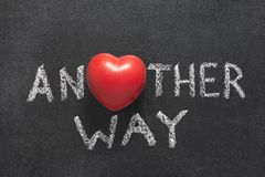 Another way heart Royalty Free Stock Images