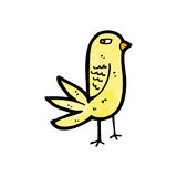 Anoyed cartoon bird Royalty Free Stock Photo