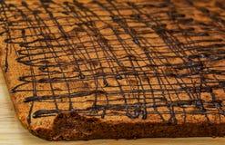 Anpan, κόκκινο ψωμί φασολιών Στοκ Φωτογραφία