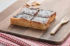 Anpan, κόκκινο ψωμί φασολιών Στοκ φωτογραφία με δικαίωμα ελεύθερης χρήσης