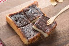 Anpan, κόκκινο ψωμί φασολιών Στοκ Φωτογραφίες