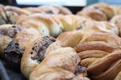 Anpan, Brot der roten Bohne Stockfoto