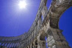 anphitheatre rzymski Obrazy Stock