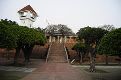 Anping Fort. Has a historical significance like none other. During the Dutch occupation in 1624, this fort, originally named as Fort Zeelandia, was established royalty free stock photography