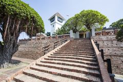Anping Fortress, an old Dutch VOC fortress in Tainan, Taiwan. Asia Royalty Free Stock Photos