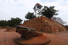 Anping Old Fort in Taiwan Stock Photo