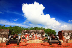 Anping Small Fort, Tainan City, Taiwan Royalty Free Stock Image