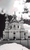Anreevskaya Kirche, Kyiv Stockfoto