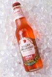 Anrgy fruktträdgård Rose Hard Cider royaltyfri bild