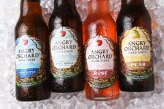 Free Anrgy Orchard Hard Cider Stock Photography - 129396972