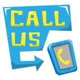 Anruf US Lizenzfreies Stockbild